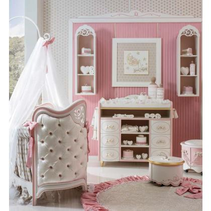 Picture Luxurious pink room for an infant - Ebanisteria Bacci