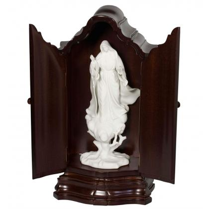 Picture Sculpture of Our Lady of Fatima made of porcelain - Vista Alegre